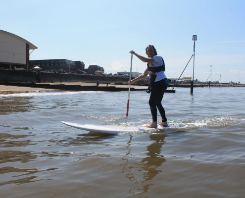 Paddleboard Lessons in Hunstanton, Norfolk