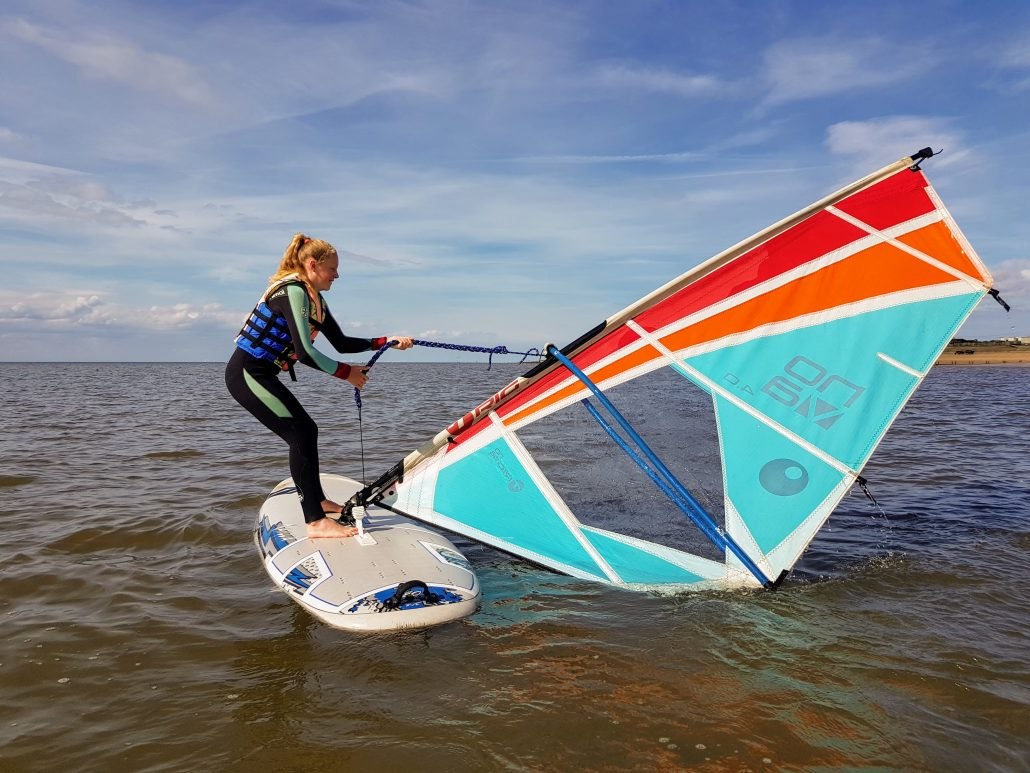 Windsurfing Lessons and Courses in Hunstanton, Norfolk