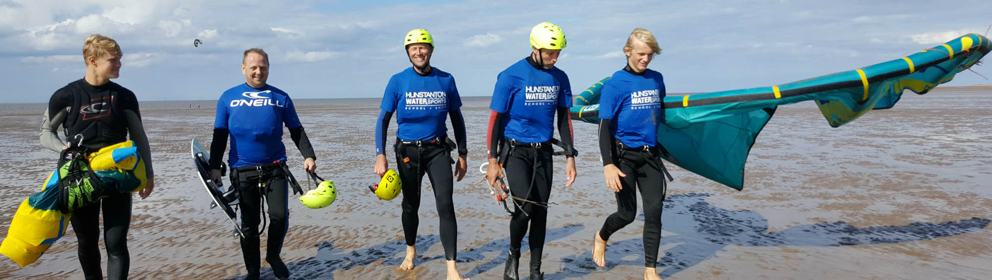Kitesurfing tuition in Hunstanton