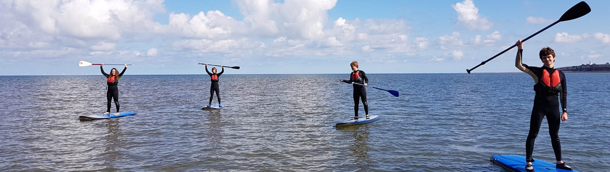 Paddleboard Lessons in Hunstanton