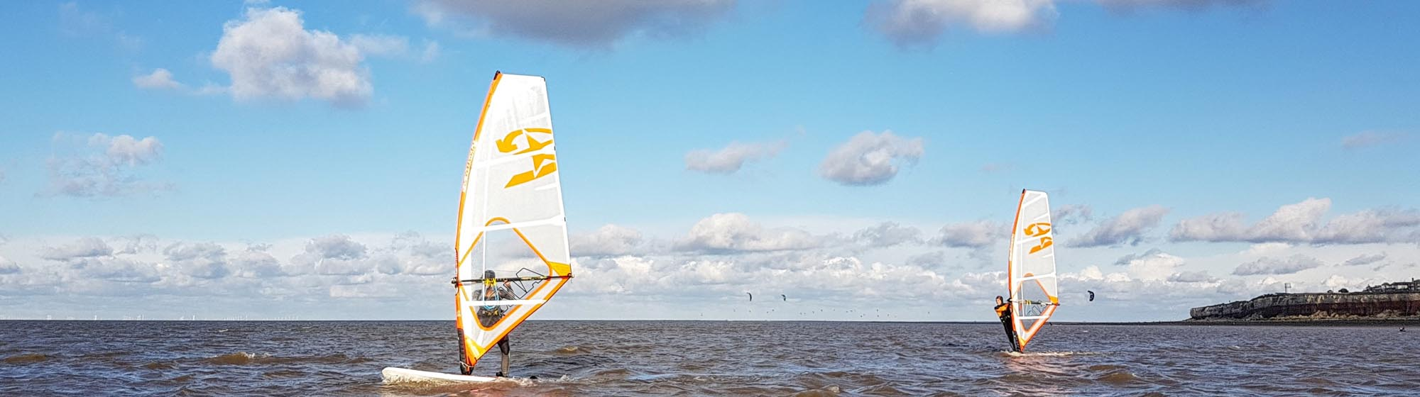 Windsurf Tuition in Norfolk